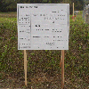 開発行為許可標識看板